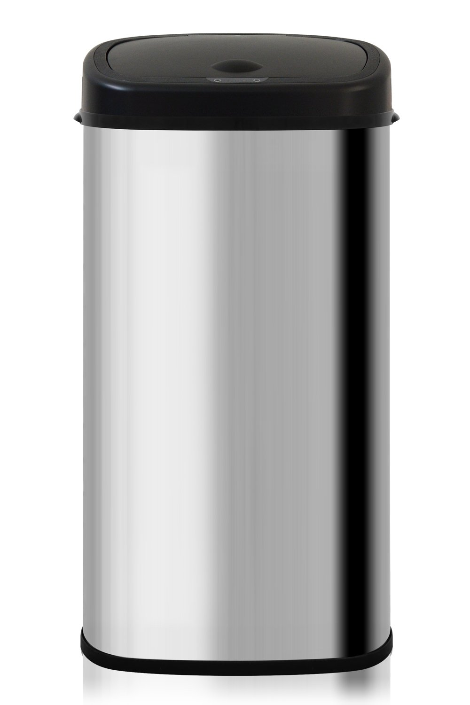 ottostyle.jp センサー全自動開閉式ごみ箱 大容量68L 【クローム×ブラック】 ステンレス ふた付き 分別 おむつ 70リットルゴミ袋対応 B072MGW97C クローム×ブラック クローム×ブラック