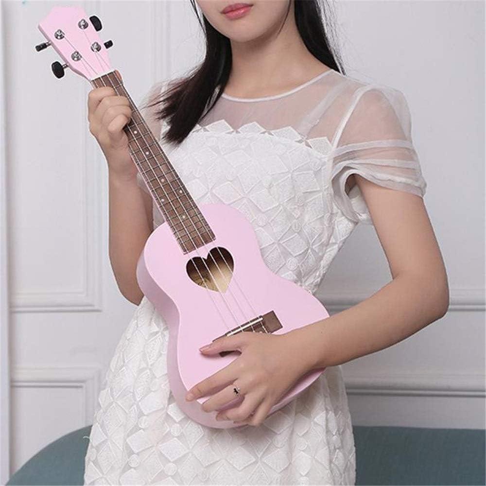 Bueno para el cerebro CHNWJ-juguetes rosa Ukuleles Chicas 23 ...
