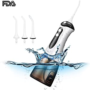 Giveaway: Water Flosser Cordless 300ml Dental Teeth Cleaner IPX7 Waterproof...