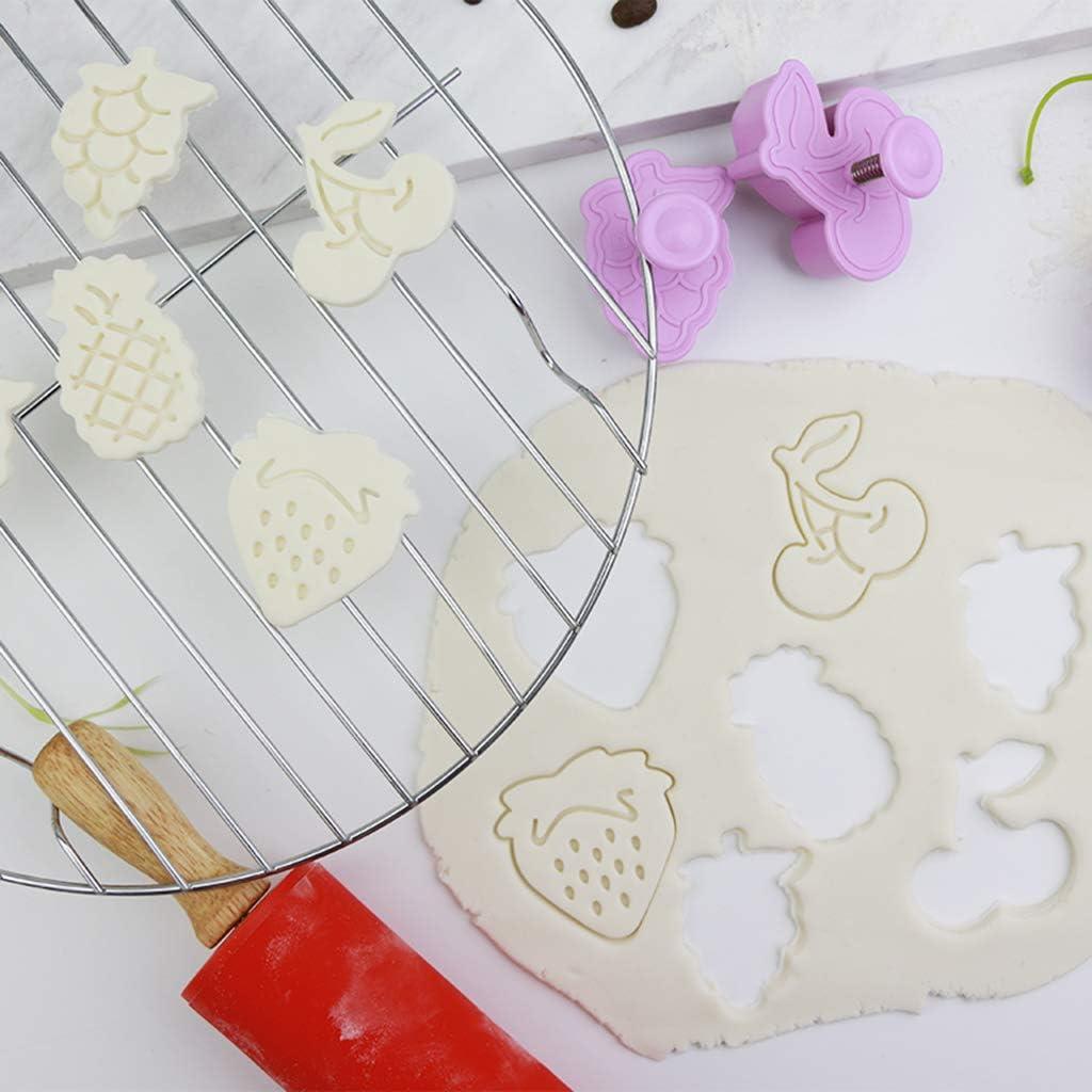 cioccolato per biscotti Stampo a forma di ananas ciliegia Lisanl a forma di fragola decorazione per la casa budino