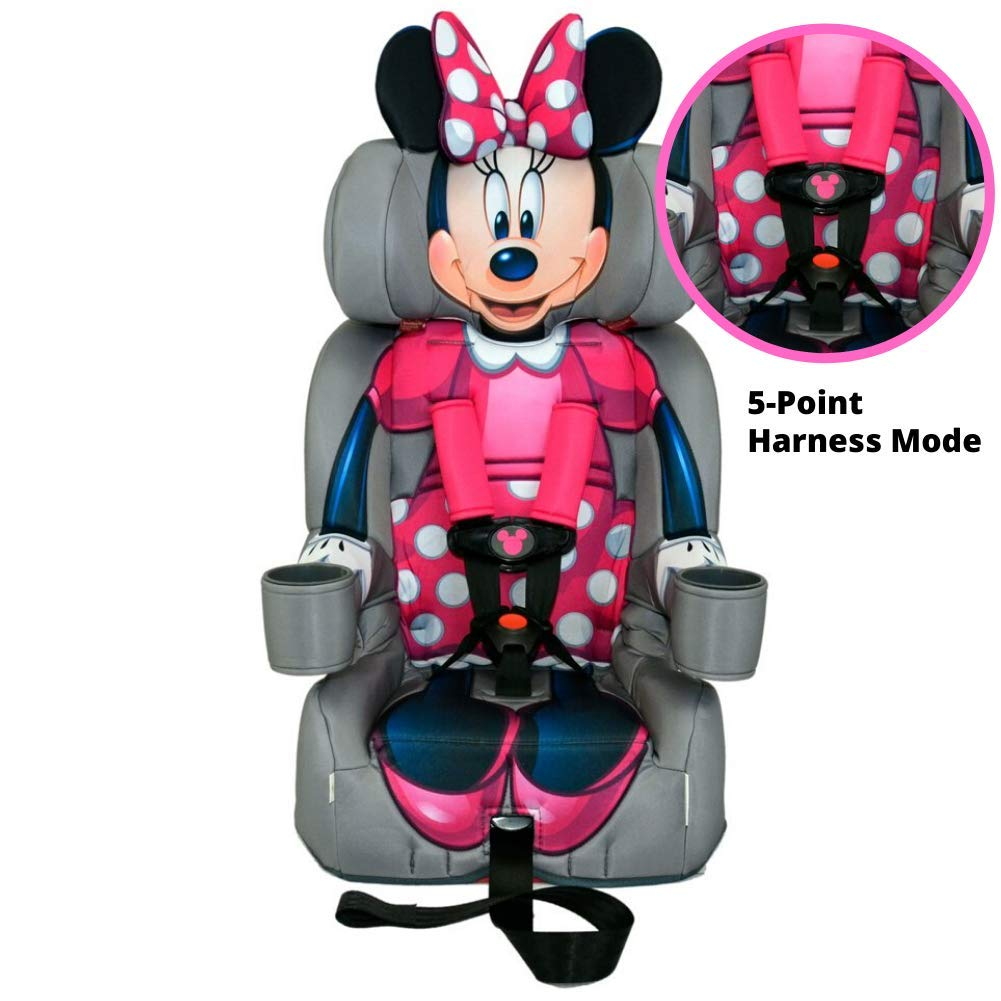 Amazon.com : KidsEmbrace 2-in-1 Harness Booster Car Seat, Disney Minnie  Mouse : Baby