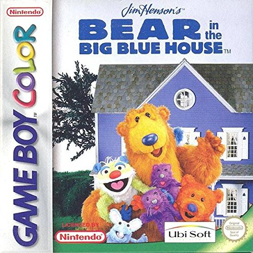 jim henson 39 s bear in the big blue house game boy color countdown. Black Bedroom Furniture Sets. Home Design Ideas