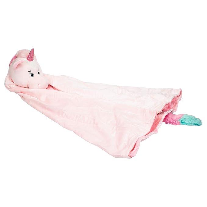 3+ Unicorn Wearable Blanket 36 X 46 Pink