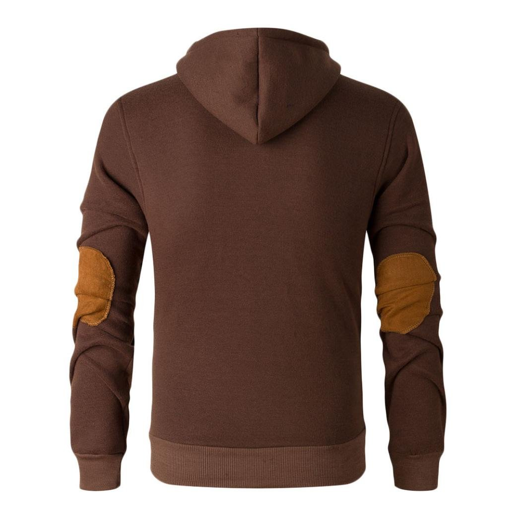 Coromose Male Even CAP Sweater Autumn And Winter (M, Brown)