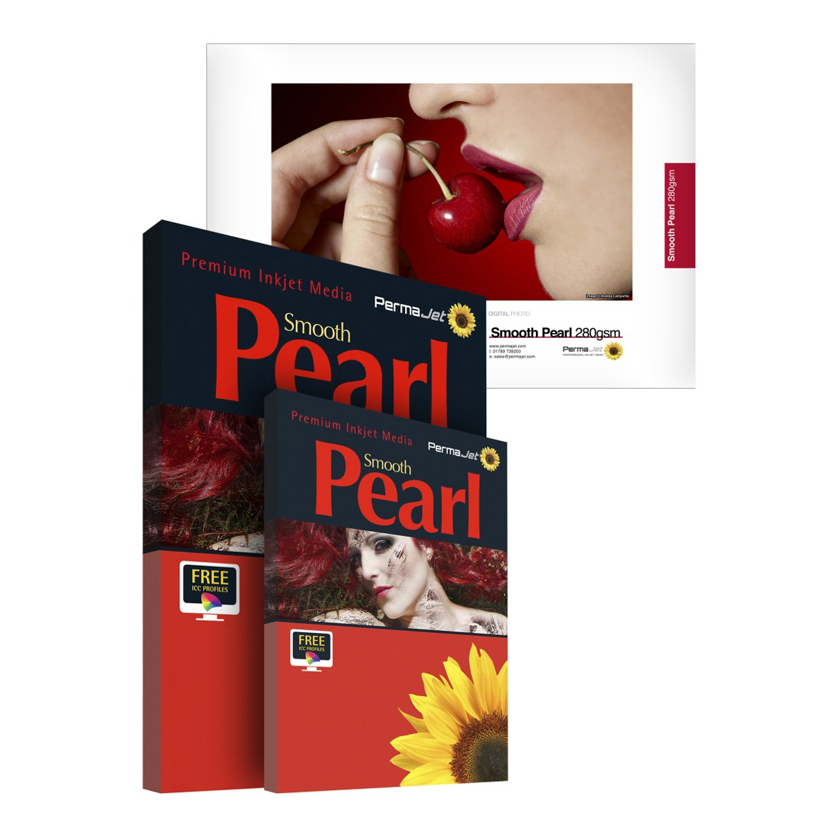 PermaJet 50758 43,2 cm X 30 30 30 m Smooth Pearl Papier Rolle 78520e