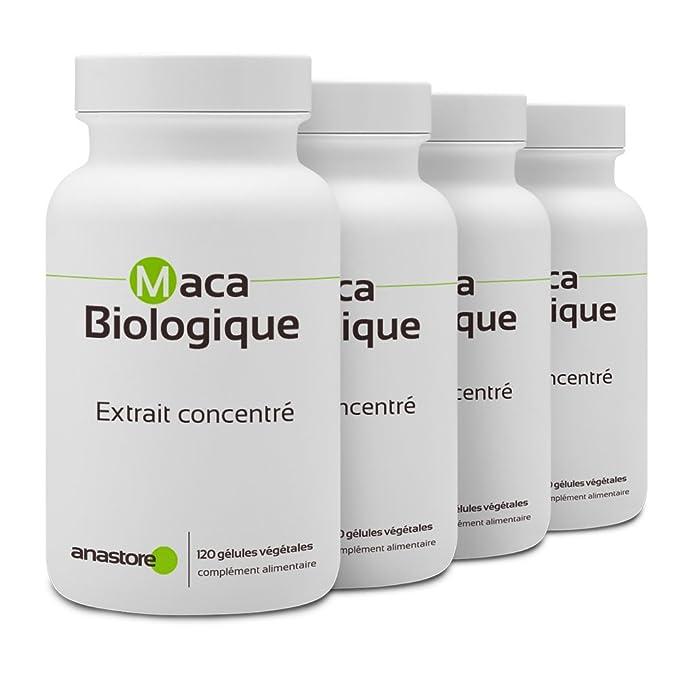 MACA ANDINA ECOLÓGICA * 500 mg / 120 cápsulas * Energia (fatiga), Equilibrio emocional, Mujeres (menopausia), Sexualidad (líbido, sexualidad hombre, ...