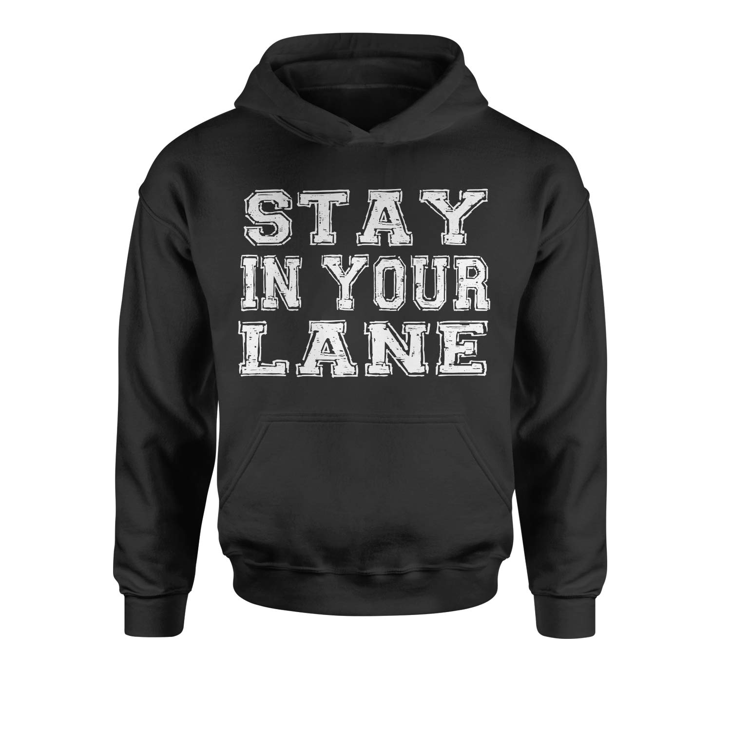 Expression Tees Stay in Your Lane Youth-Sized Hoodie