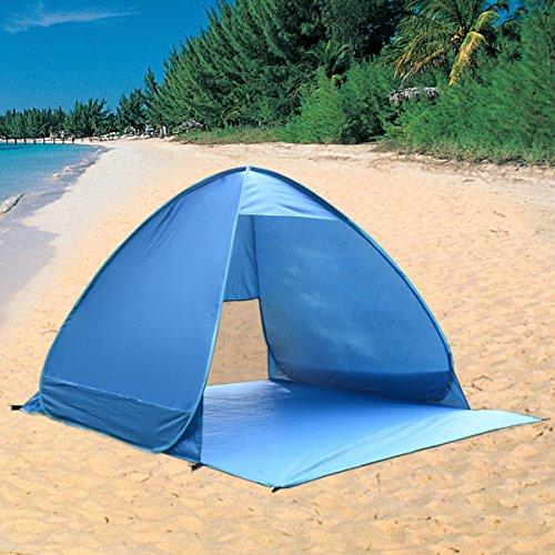 Beach Canopy Sun Shade Shelter Outdoor Tienda Camping Fishing ()