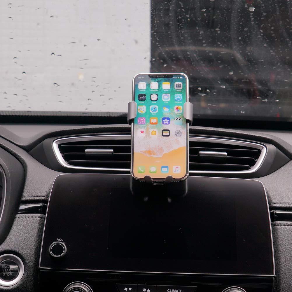 KUST Phone Holder CRV Honda,Magnetic Car Air Vent Phone Stander,Car Holds Mount CRV 2016 2017 2018,Car Phone Mount for iPhone 7 for iPhone 6s for iPhone 8 for Samsung,Smartphone 4.7//5//5.5 inch