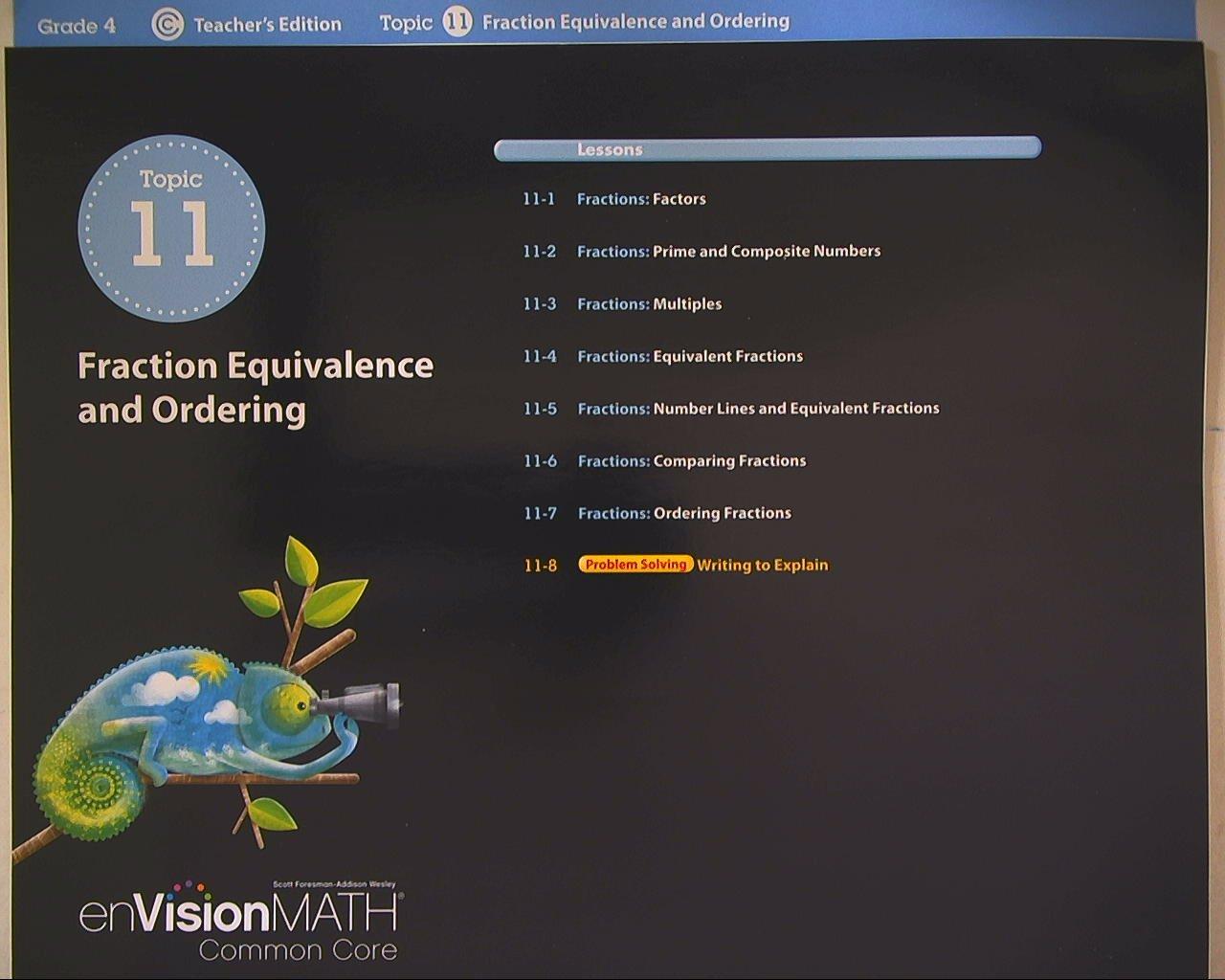 Amazon.com: enVision Math, Common Core, Teacher's Edition, Grade 4 ...