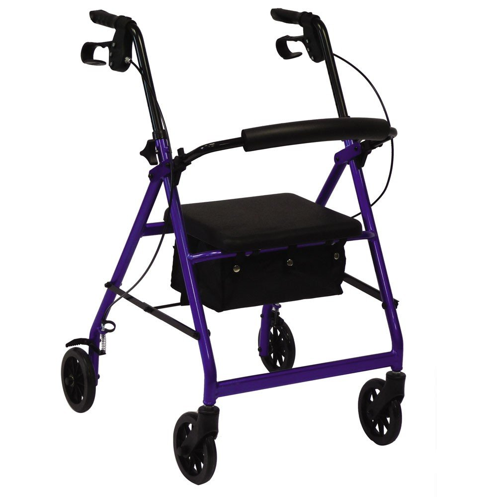 Andador rollator plegable con ruedas y frenos especial artritis ...