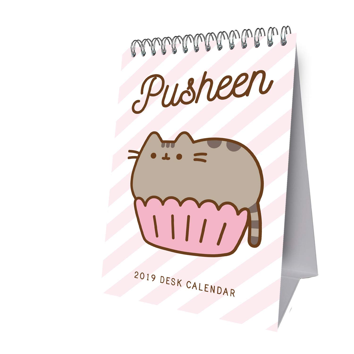 Pusheen Desk Easel Official 2019 Calendar - Slim Desk Easel ...