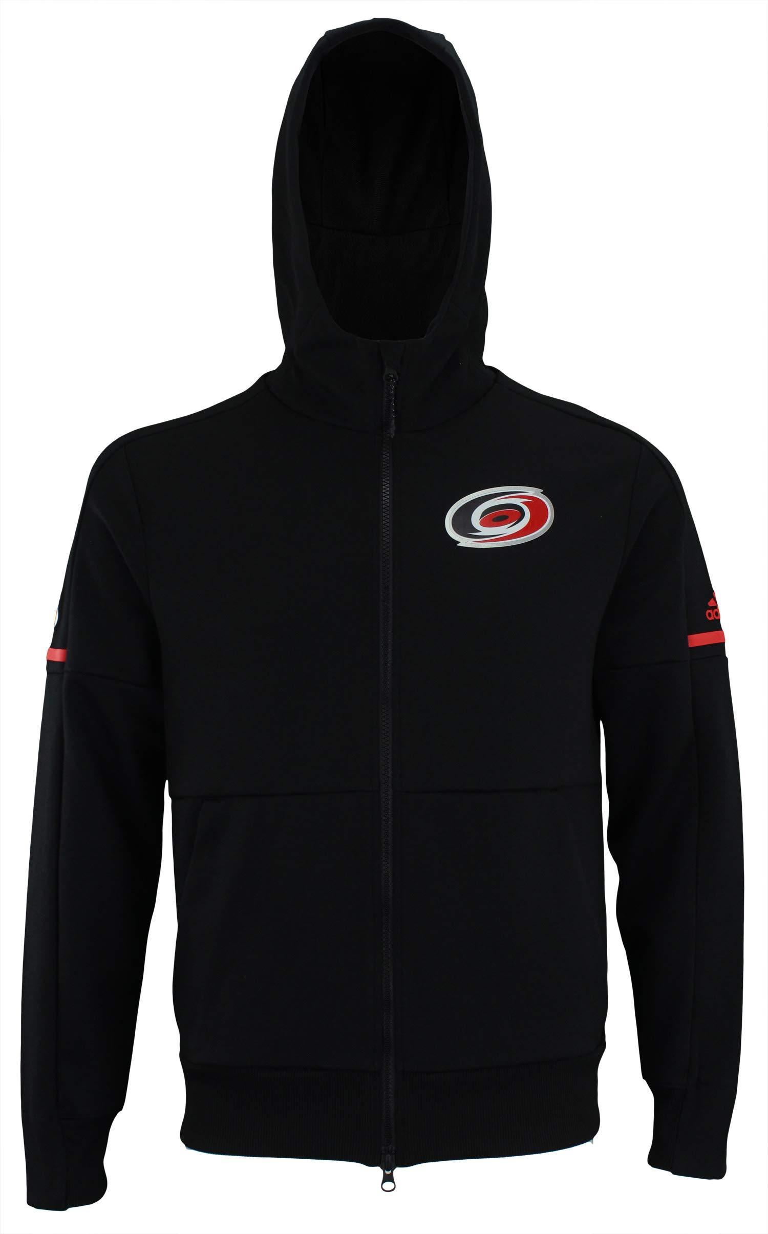 adidas NHL Center ICE Finished ZNE Jacket HURRI BLK ZNE J/NHL Hurrican Size S