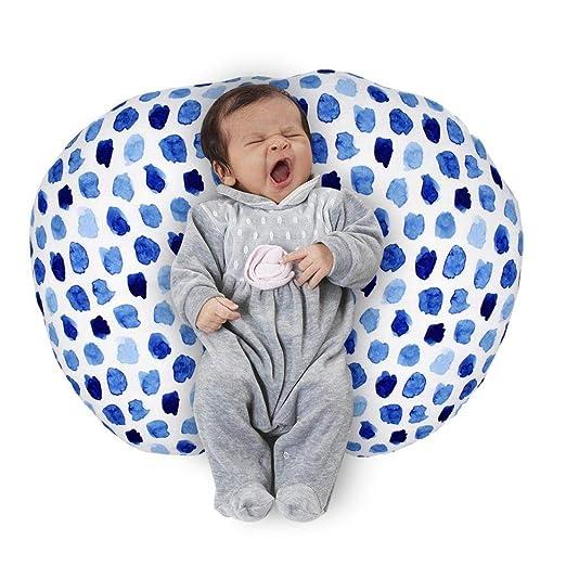 Womdee - Funda de Almohada de Lactancia para recién Nacido, Funda de poliéster extraíble para Lactancia Materna, Almohada de Apoyo y Cuerpo Completo ...