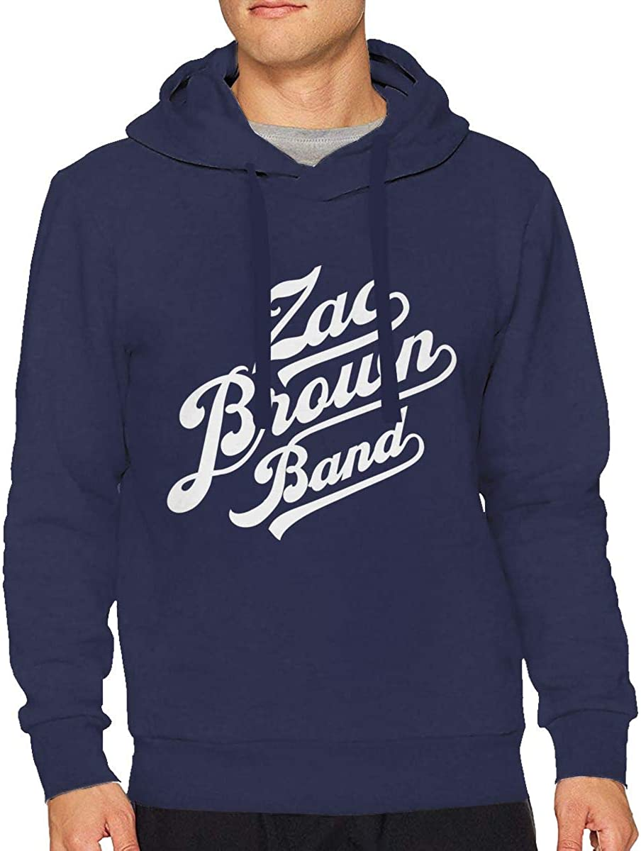 Magee Mens Zac Brown Band Long Sleeve Hooded Sweat Shirt Pullover