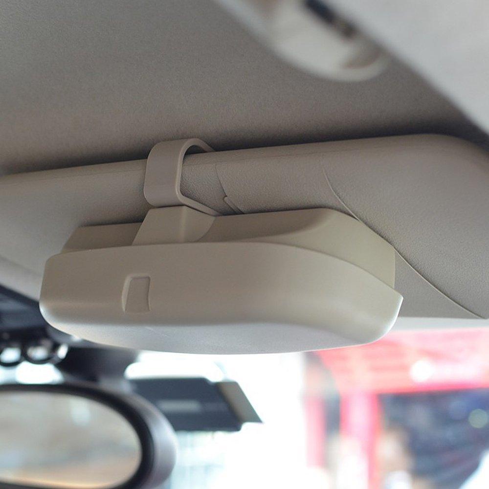 Itimo /étui /à lunettes de voiture universel support pour lunettes de soleil Car-styling Ranger Bo/îte de rangement pour ranger de voiture poches de rangement Auto Accessoires