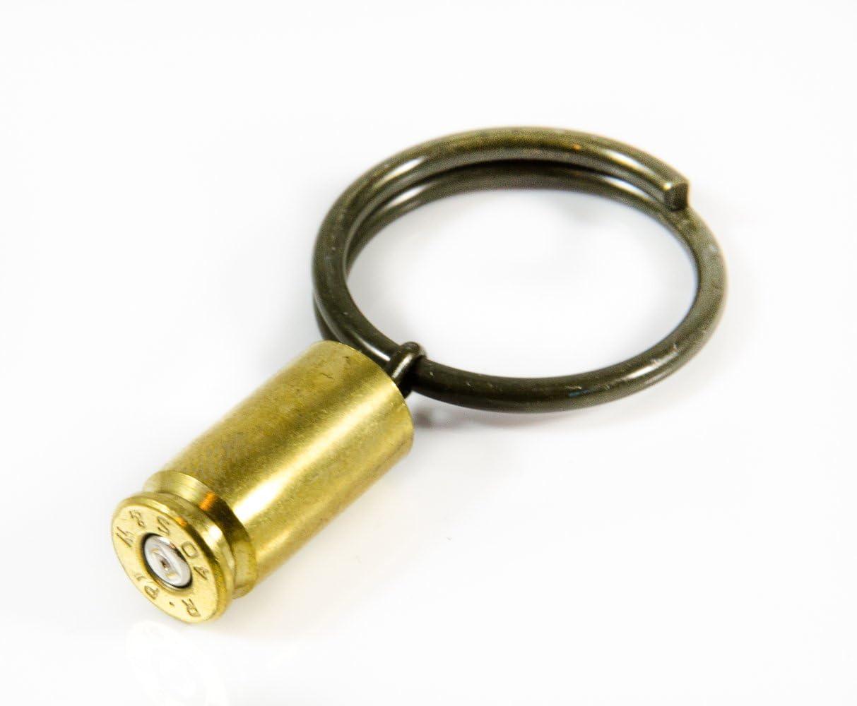 Genuine 9mm Caliber Bullet Key Ring