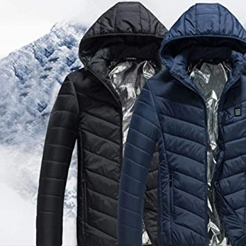 45ce7a65fc DIVAND Outdoor Multi-Function Heating Down Jacket