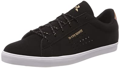 b17d14c0d1a2 Le Coq Sportif Women s s Agate Black Rose Gold Trainers  Amazon.co ...