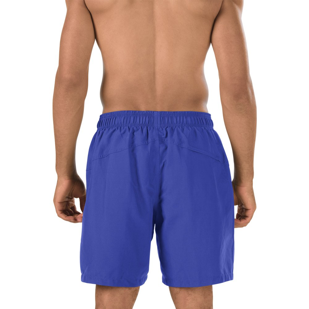 fb9e327460 Amazon.com  Speedo Men s Solid Rally Volley 19 Inch Workout   Swim Trunks   Sports   Outdoors