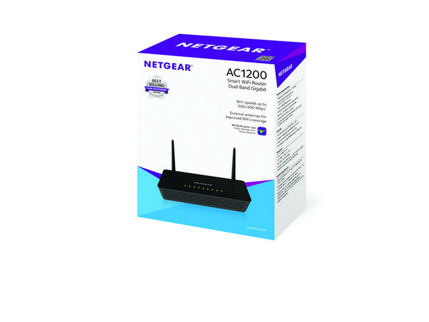 R6020 wifi routers networking home netgear - Netgear R6220 Ac 1200 Smart Wifi Router With External Antennas Buy Netgear R6220 Ac 1200 Smart Wifi Router With External Antennas Online At Low Price In