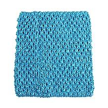 "Wholesale Princess 6"" Crochet Tutu Top (Turquoise)"