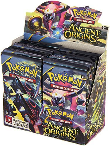 PokÃmon Trading Card Game XY-Ancient Origins Display Booster Box (36 Booster Packs) by Pokémon