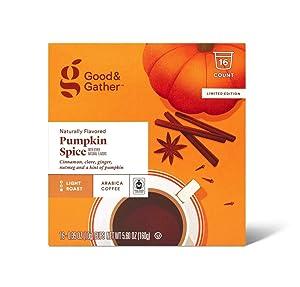 Good & Gather Pumpkin Spice Arabica Coffee 16-0.35oz Cups