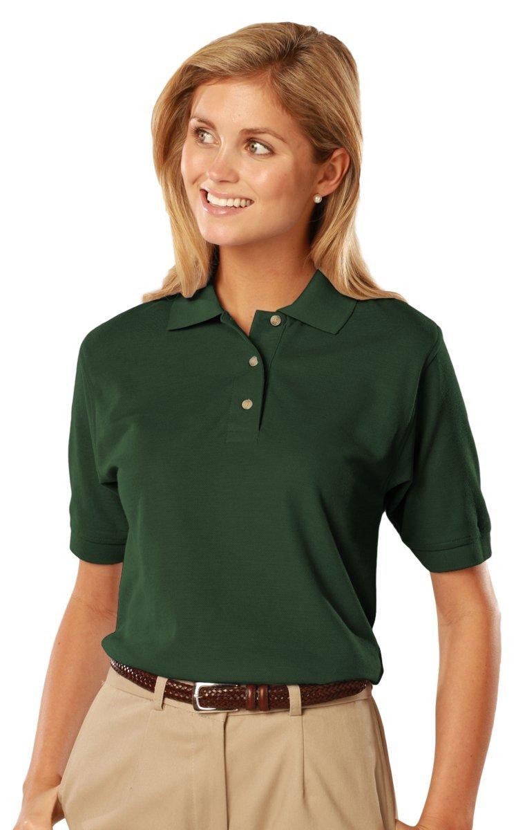 Blue Generation BG6201 -Short Sleeve Cotton Polos-Polo Shirts (XL, Hunter)