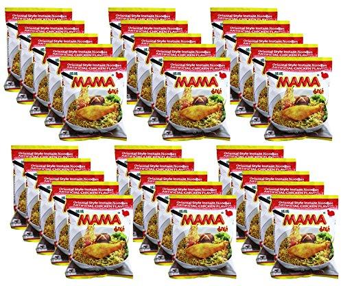 MAMA Oriental Style Instant Noodles - Chicken Flavor 1.94 oz/275g (30 (Oriental Chicken)