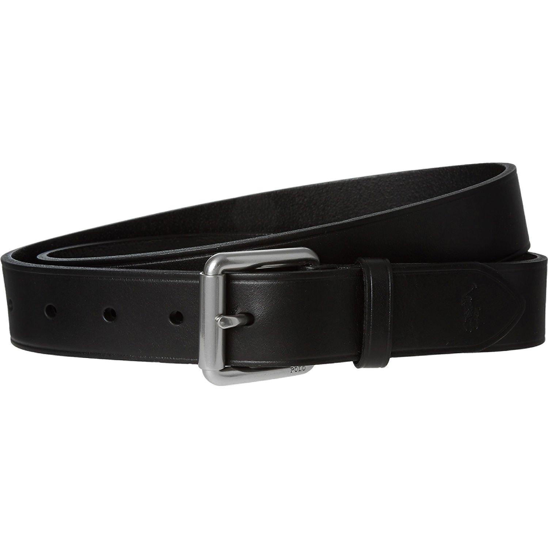 Polo Ralph Lauren Cinturón - para hombre Negro Negro (85: Amazon ...