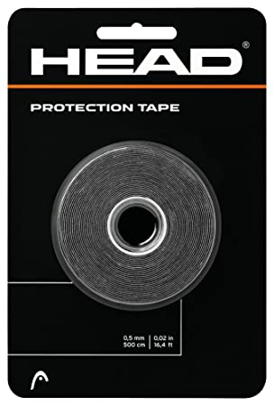 Head New Protection Tape - Cinta protectora, color negro: Amazon.es: Deportes y aire libre