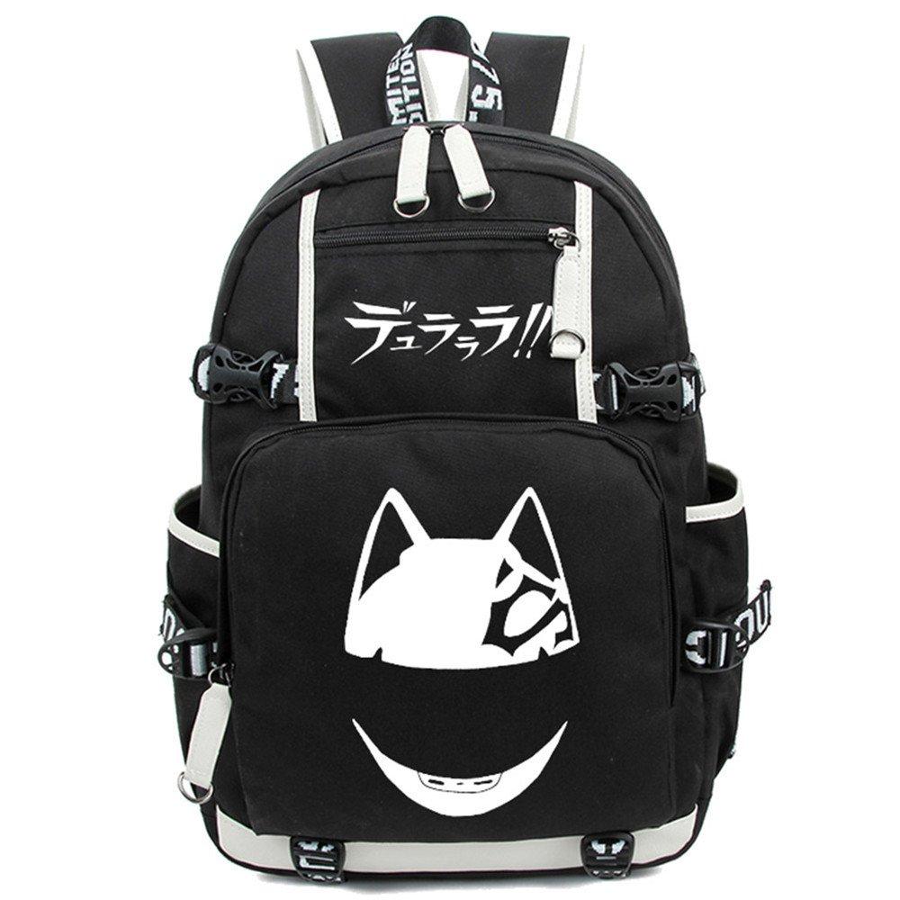 d7d4102b1e best Siawasey Anime Durarara!! Cosplay Luminous Bookbag Backpack ...