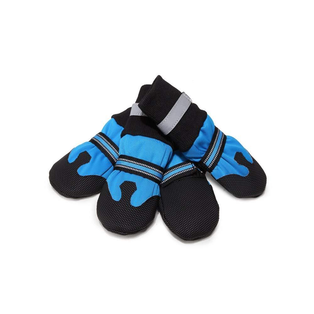 V-Do riflettente cane pioggia neve impermeabile stivali stivaletti per cani zampa proteggere per Winter Dog scarpe Easy on
