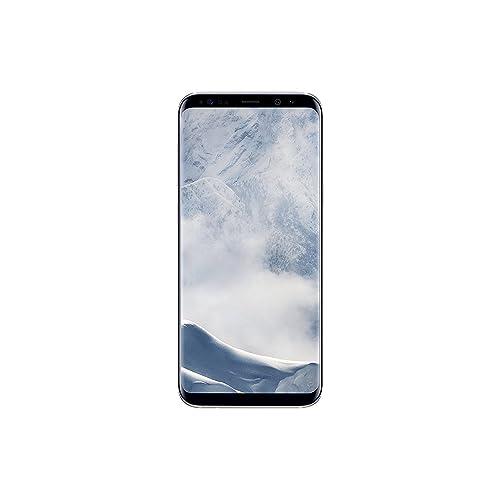 Samsung Galaxy S8 Smartphone libre de 5 8 4 G Bluetooth Octa Core S 64 GB memoria interna 4 GB RAM camara de 12 MP Android Plata Versión española