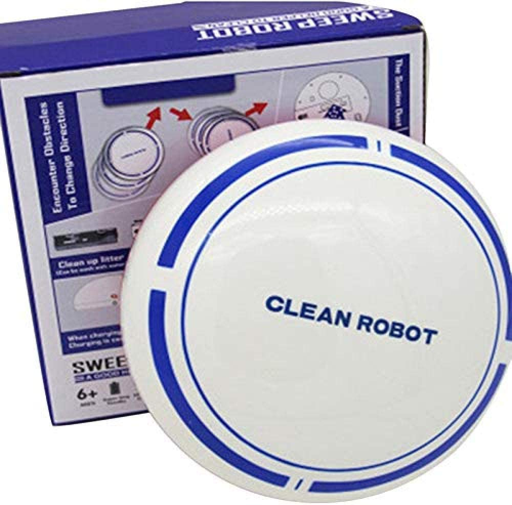 GSWF_OOEFC Aspirateur Robot de Sol Rechargeable XXFFD pour la Maison Automatique de stérilisation de la poussière App Smart Control Sweeping Cleaner (Couleur: B)-B B
