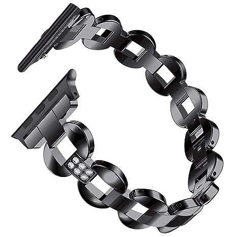 ZXLIFE@@ Rhinestone Smart Watch Band, Banda de reemplazo ...