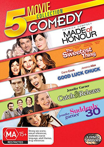 Good Luck Chuck / Made of Honour / Suddenly 30 / Sweetest Thing | 3 Discs | NON-USA Format | PAL | Region 4 Import - Australia