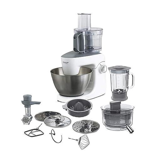 Kenwood KHH326 Robot de Cocina, Accesorios incluidos, 1000 W, 4.3 litros, Acero