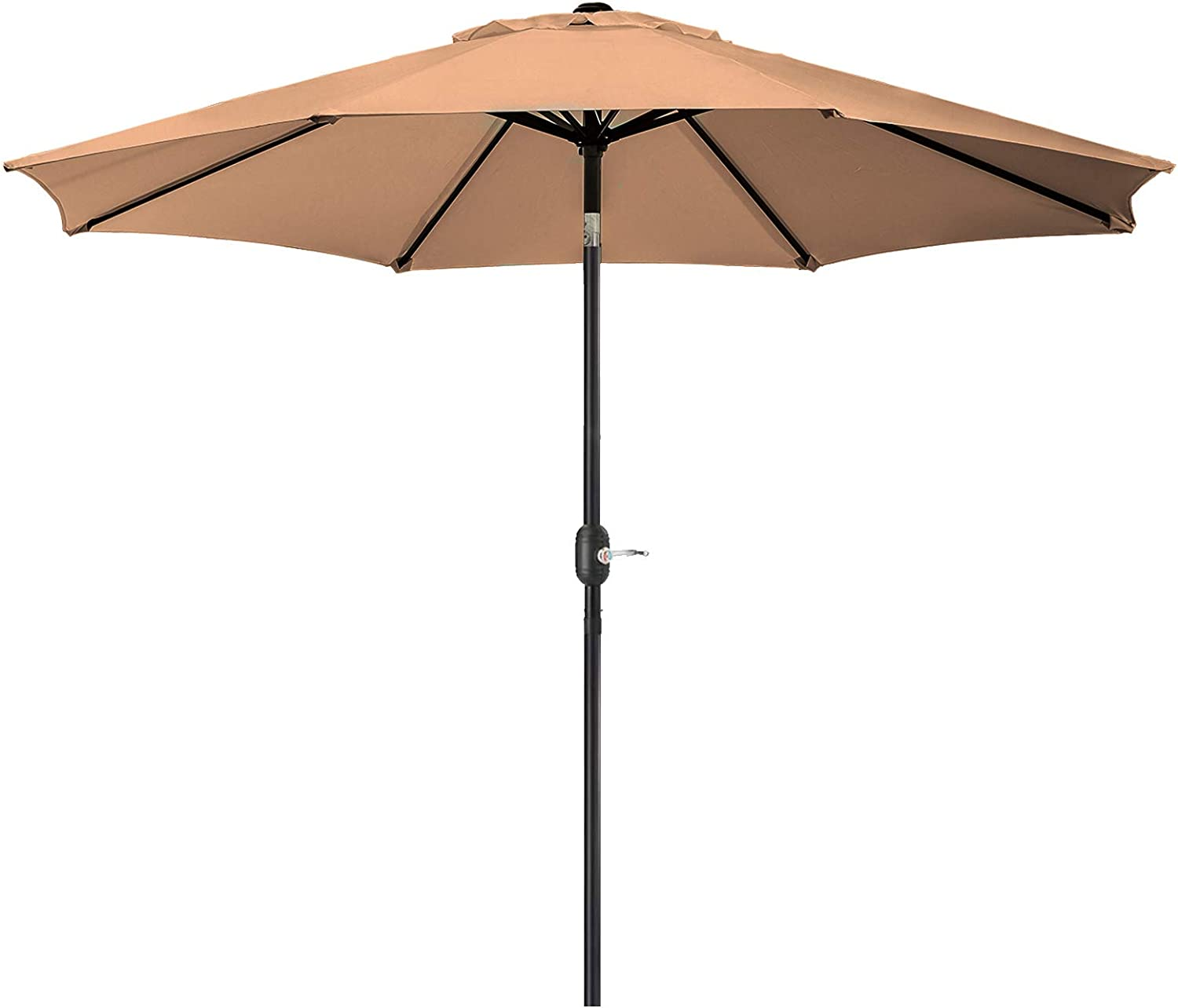 UHINOOS 9 ft Patio Umbrella,Outdoor Umbrella