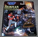 1997 Eddie George NFL Heisman Collection Starting Lineup Figure The Ohio State University