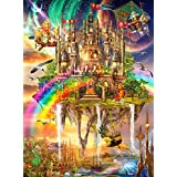 Buffalo Games-Vivid Collection-Rainbow City-1000 Piece Jigsaw Puzzle