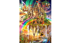 Buffalo Games - Vivid Collection - Rainbow City - 1000 Piece Jigsaw Puzzle