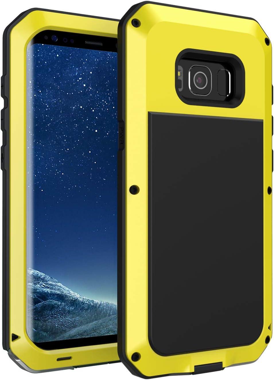 seacosmo Funda Compatible con Galaxy S8, [Rugged Armour] de Choque ...