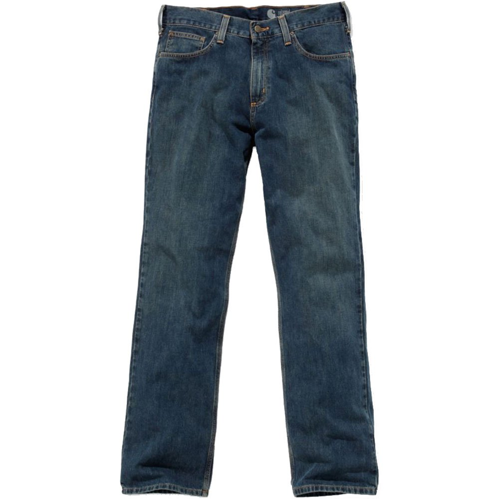 Carhartt Men's Relaxed Straight Leg Five Pocket Jean,Weathered Blue,32 x 32