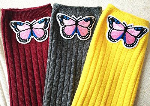Gris Foncé Unique Chaussettes Taille Acvip Fille xwRHqI7