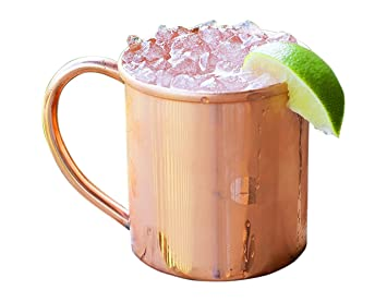 alchemade 100 pure copper mug for moscow mules 14oz