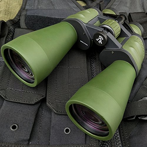 Day/Night 10x-120x90 HUGE MILITARY Power Zoom Hunting BINOCULARS w/Pouch Fishing | with Holt Multi Tool Key - Holt Lens