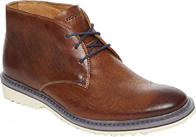 Latest Rockport Jaxson Castlerock Grey Chukka Boots for Men Online Sale