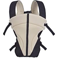 Ineffable Chinmay Kids Baby Carrier Bag with Head Support for 4-12 Months (Cream with Strip)
